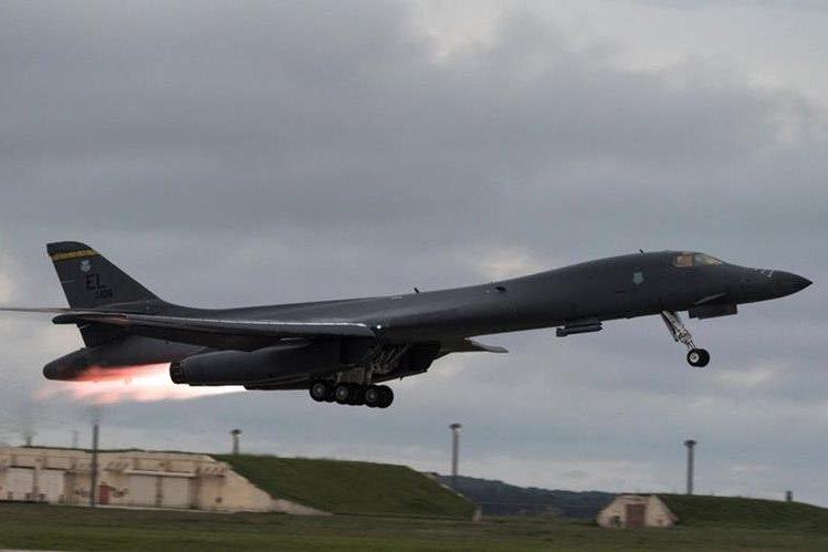 Corea del Norte advierte de los ensayos militares conjuntos entre EE. UU. y Corea del Sur. (Foto Prensa Libre: EFE)