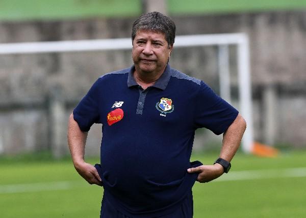 Hernán Gómez asegura estar contento con el nivel con que está jugando Panamá. (Foto Prensa Libre: AFP).