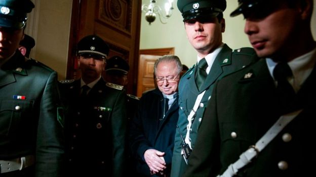 A pesar de todo, Karadima nunca fue a la cárcel. (AFP)