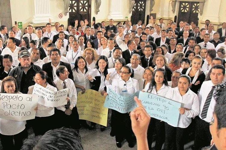 Este miércoles entran en vigencia las reformas a la Ley Orgánica del Congreso. (Foto Prensa Libre: Hemeroteca PL)