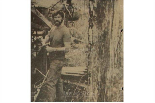 Michael Devine, asesinado en 1990. (Foto: Hemeroteca PL)