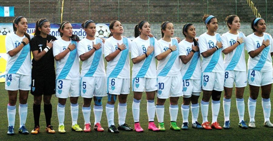 Las jugadoras nacionales esperan lograr el pase. (Foto Prensa Libre: Cortesía Fedefut)