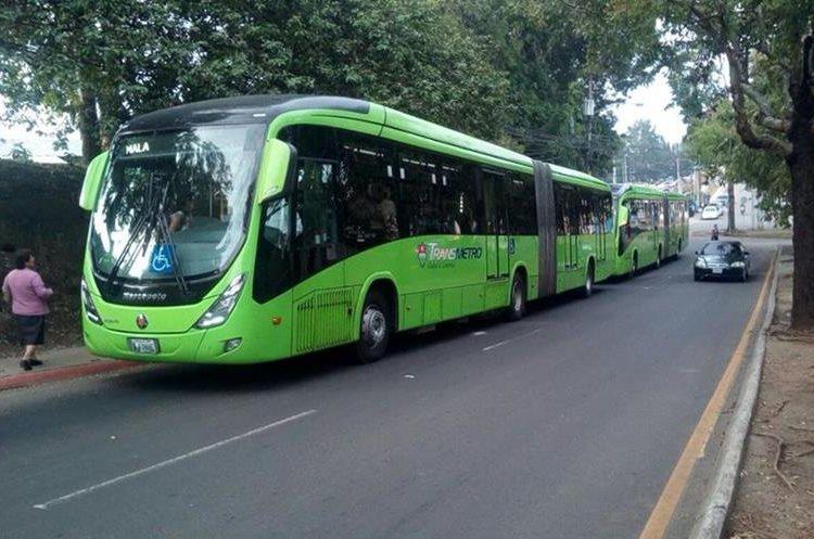 La Municipalidad de Guatemala  habilitó el servicio del Transmetro para la zona 21.