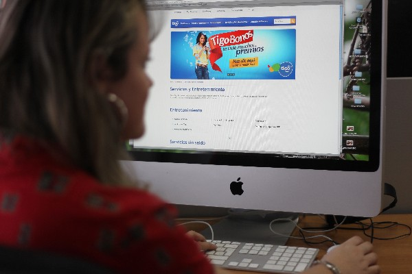 El internet facilita la conexión laboral. (Foto Prensa Libre: Hemeroteca PL)