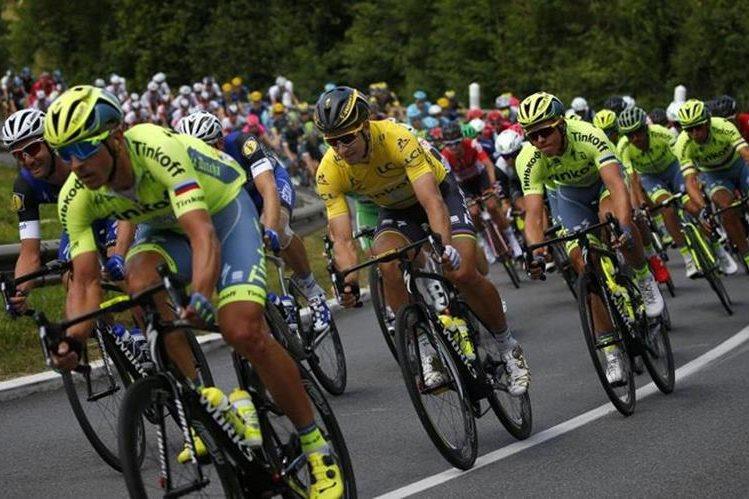 El tour de Francia es uno de los más esperados por los amantes del ciclismo. (Foto Prensa Libre. AP)