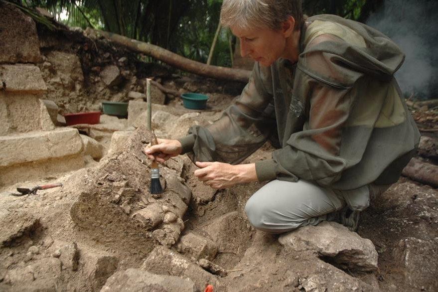 Los hallazgos de los investigadores apuntan a problemas que la civilización maya sufrió alrededor del año 200 después de Cristo, en Ceibal, Petén. (Foto Prensa Libre: EFE)