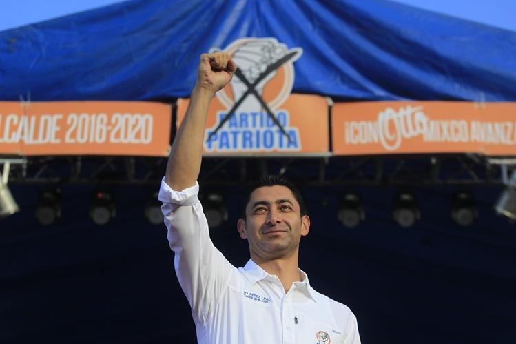 El alcalde de Mixco Otto Pérez Leal enfrenta tres procesos de antejuicio en los tribunales. (Foto Prensa Libre: Hemeroteca PL)