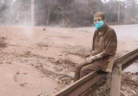 El rostro de la tragedia del Volcán de Fuego