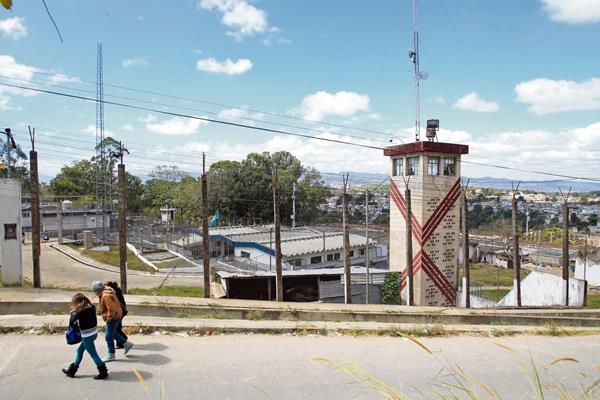 Panorámica del Centro Preventivo para Hombres en la zona 18. (Foto Prensa Libre: Hemeroteca PL)