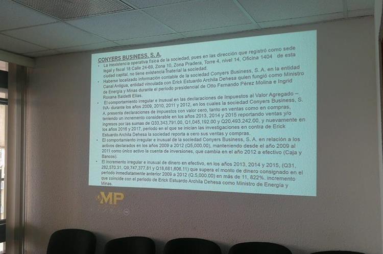 La acusación del MP señala la forma de pago. (Foto Prensa Libre: Kenneth Monzón)