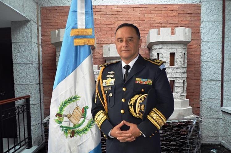 General de Brigada, Luis Miguel Ralda Moreno, nuevo ministro de la Defensa Nacional de Guatemala (Foto Prensa Libre: @Ejercito_GT )