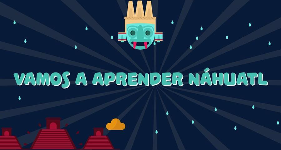 """""""Vamos a aprender náhuatl"""" está disponible para iOS y Android. (Foto: Hemeroteca PL)."""
