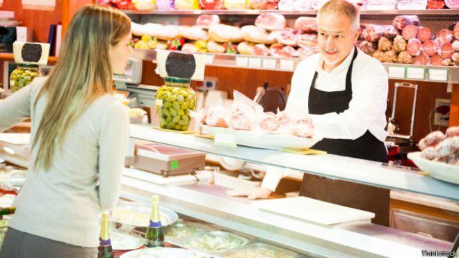 En la oferta de carnes en supermercados de varios países de Occidente, la de perro es inexistente. Thinkstock.