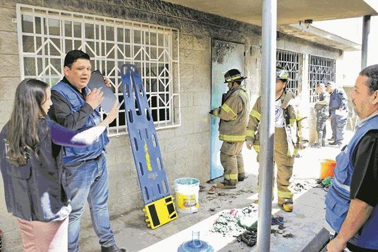 En incendio en el Hogar Seguro murieron 41 adolescentes. (Foto: Hemeroteca Prensa Libre)