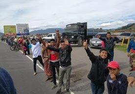 La pasión en la carretera en Totonicapán