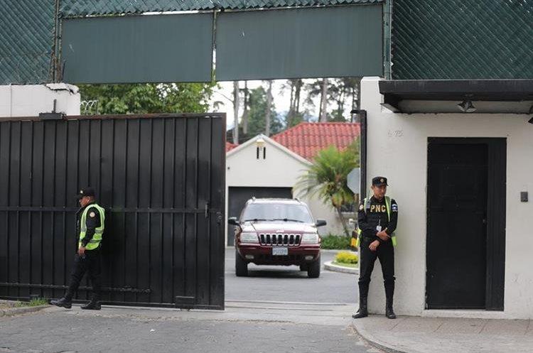 Sede de la Cicig en la zona 14. Recientemente el Ministerio de Gobernación decidió quitar a 20 oficiales de la PNC que estaban asignados a esa misión internacional. (Foto Prensa Libre: Hemeroteca PL)