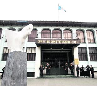 La CC decidió separar de la magistratura titular a Manuel Duarte. (Foto Prensa Libre: Hemeroteca PL)