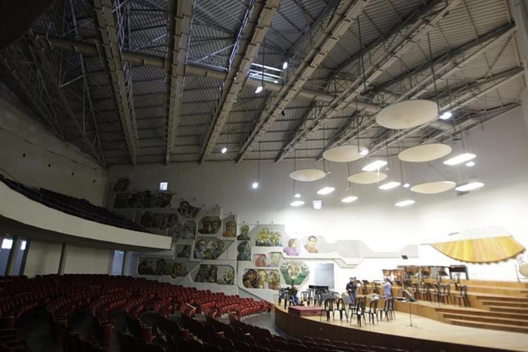 Auditorio del Conservatorio Nacional, en la zona 1. (Foto Prensa Libre: Hemeroteca PL)