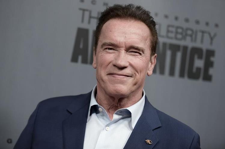 Arnold Schwarzenegger se retira del programa El aprendiz de la NBC. (Foto Prensa Libre: AFP)
