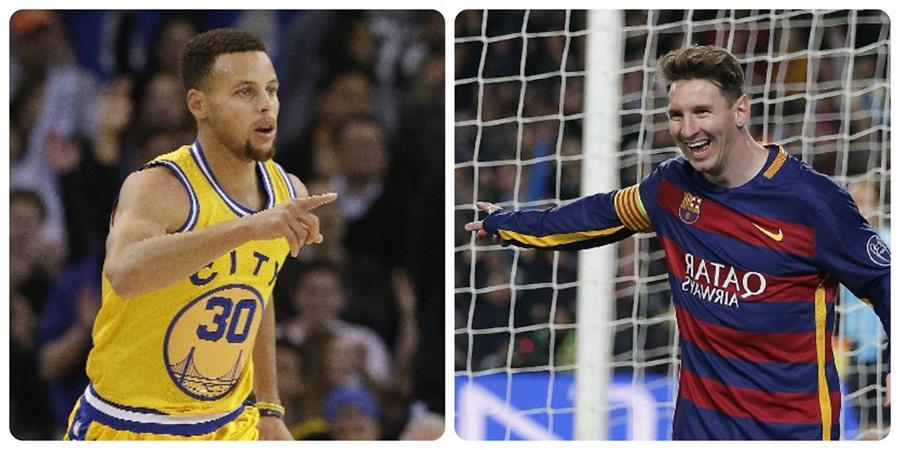 Stephen Curry y Lionel Messi son las figuras en sus equipos. (Foto Prensa Libre)