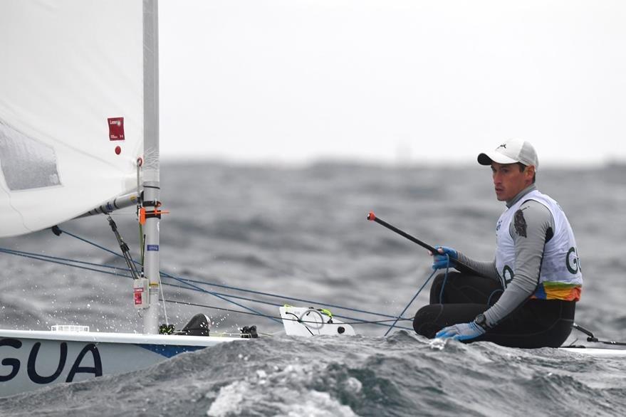 Juani Maegli buscará ubicarse dentro de los 10 primeros para avanzar a la medal race. (Foto Prensa Libre: Cortesía COG)