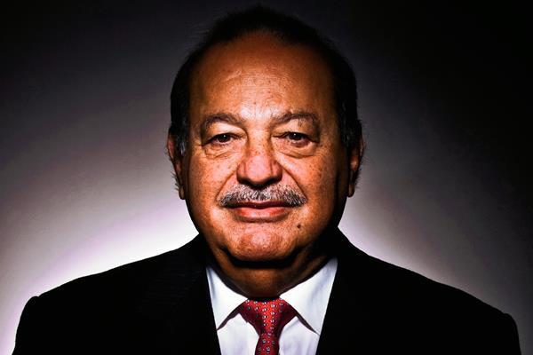 El magnate mexicano Carlos Slim es uno de los hombres más ricos del mundo (Hemeroteca PL)