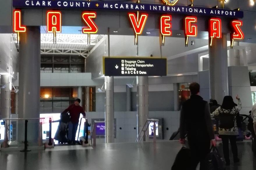 La feria CES se realiza en Las Vegas Nevada y es el lugar donde empresas grandes y pequeñas muestran sus nuevos dispositivos inteligentes. (Foto Prensa Libre: Ana Lucía Ola)