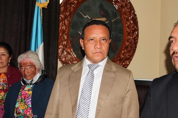 Carlos Enrique Cardona, fue nombrado como gobernador de San Marcos por el presidente Jimmy Morales. (Foto Prensa Libre: Aroldo Marroquín)