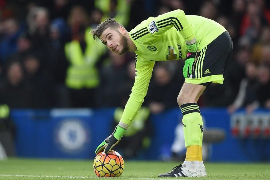 De Gea fue titular en el Manchester United en el juego del fin de semana en el empate 1-1 contra el Chelsea. (Foto Prensa Libre: EFE)