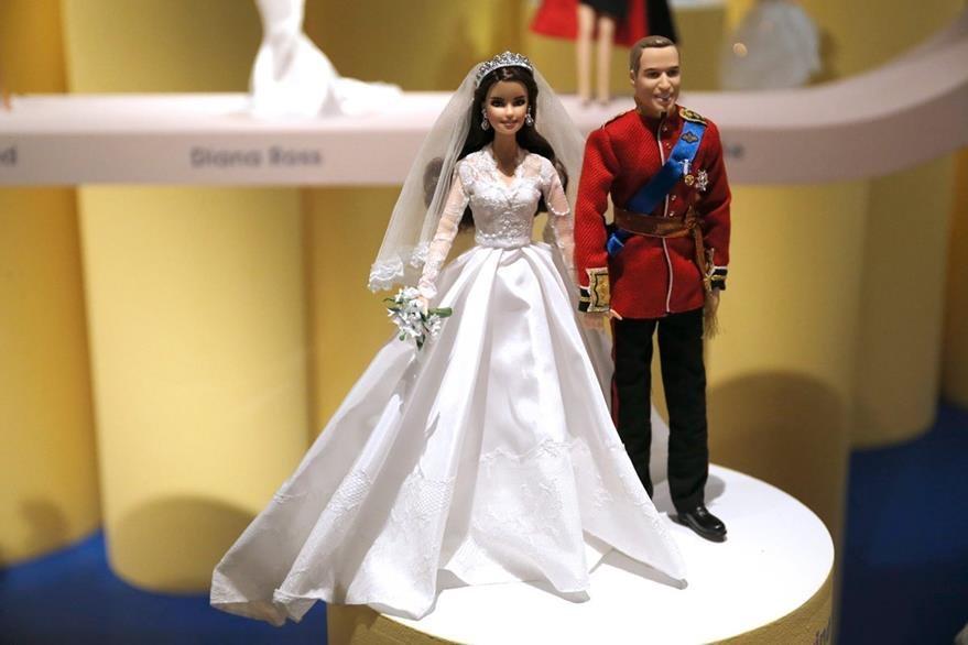 Los duques de Cambridge también tienen su representación en los emblemáticos muñecos de Mattel.
