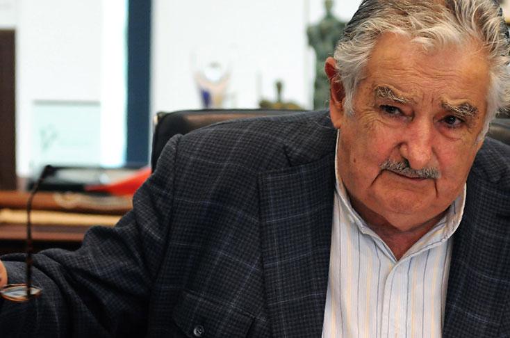 """José Mujica dice que el mandatario Nicolás Maduro """"está loco como una cabra"""".(AP)."""