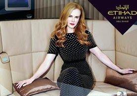 Nicole Kidman causa revuelo al participar en campaña promocional de línea aérea árabe. (Foto: Prensa Libre Hemerotéca)