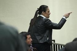 Defensa de Roxana Baldetti: Sentencia de Agua Mágica tiene irregularidades