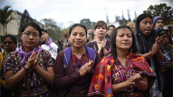 Mientras el 39% de la población de Guatemala se reconoce como indígena, en Costa Rica lo hace solo el 3% de la población. AFP