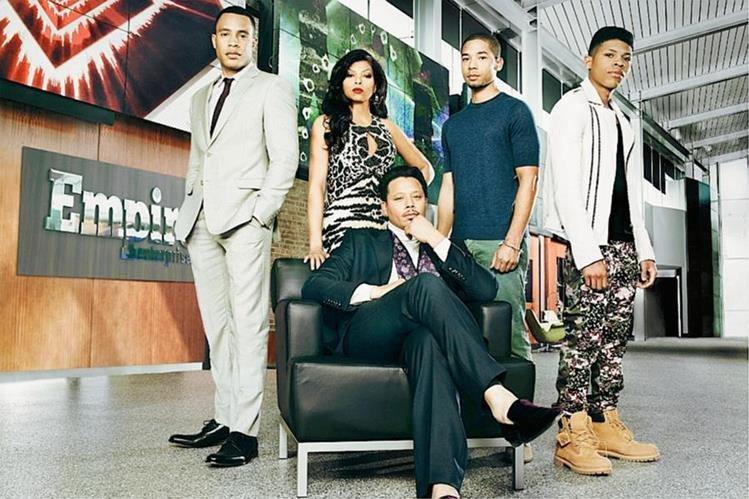 La serie Empire competirá en siete categorías. (Foto Prensa Libre. Hemeroteca PL)
