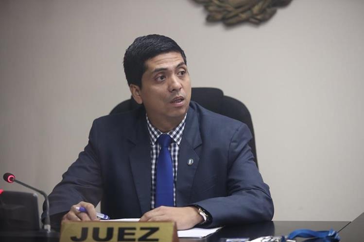 Juez Tercero de Primera Instancia Penal, Mynor Moto. (Foto Prensa Libre: Hemeroteca PL)
