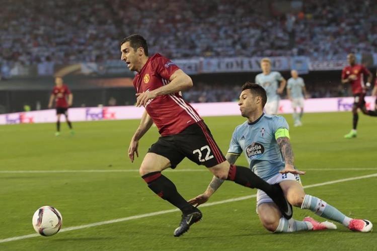 El Manchester United buscará mantener la ventaja frente al Celta. (Foto Prensa Libre: AP)