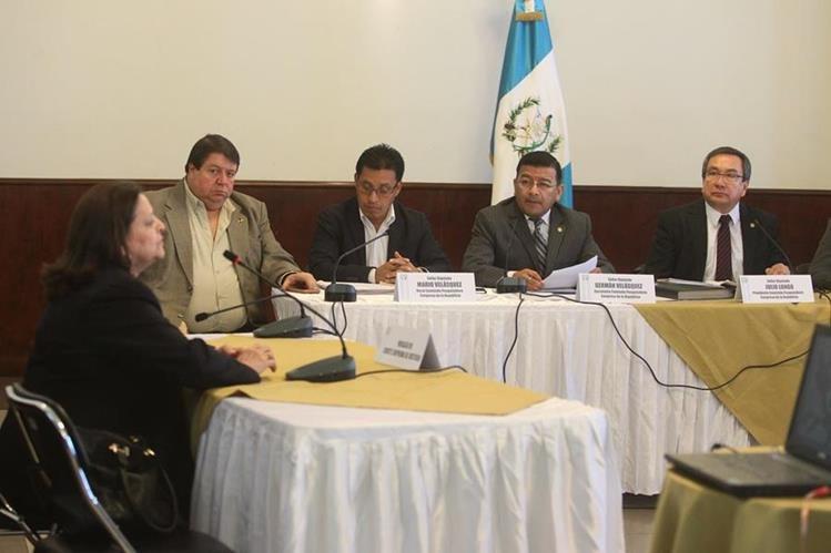 Gladys Rodríguez aceptó que la magistrada Stalling le solicitó el ingreso del juez Ruano de forma inmediata. (Foto Prensa Libre: Á. Interiano)