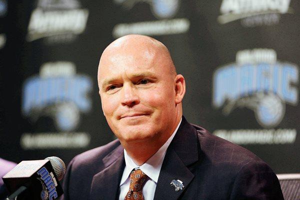 Scott Skiles fue presentado como el nuevo coach de Orlando. (Foto Prensa Libre: AP).