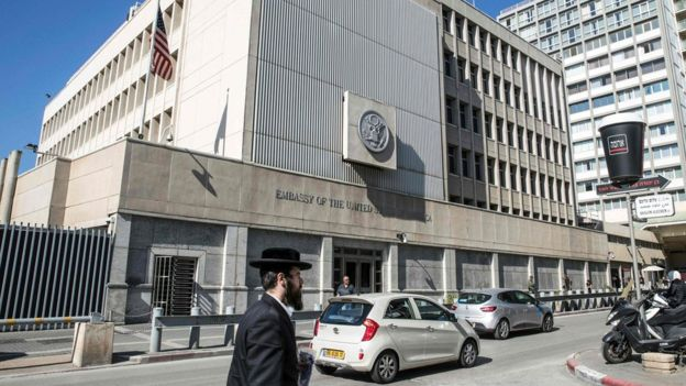 Durante la campaña presidencial, Donald Trump prometió mudar la embajada de Estados Unidos de Tel Aviv a Jerusalén. AFP