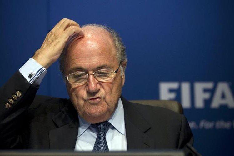 El libro de Blatter estará a la venta en los próximos días a un precio de 49 dólares. (Foto Prensa Libre: Hemeroteca PL).