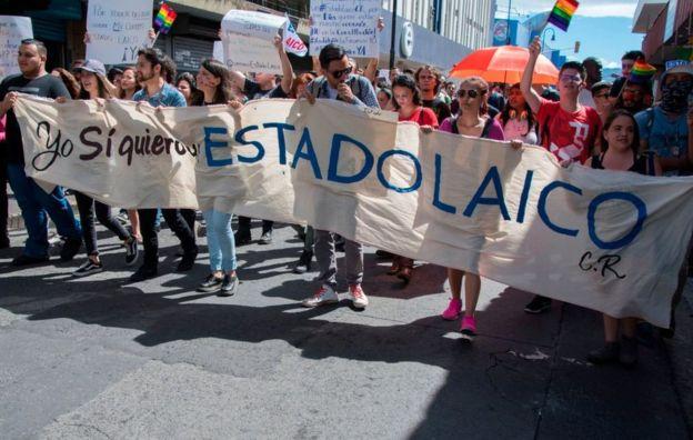 Fabricio Alvarado asegura que los que reivindican un Estado laico en realidad quieren uno ateo. GETTY IMAGES