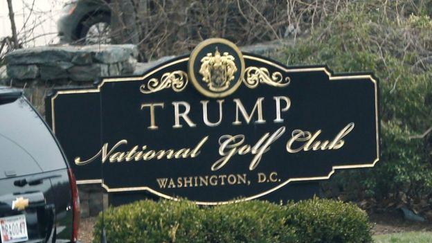 En Estados Unidos, la Organización Trump ha hecho uso amplio del escudo similar al de la familia Davies. REUTERS