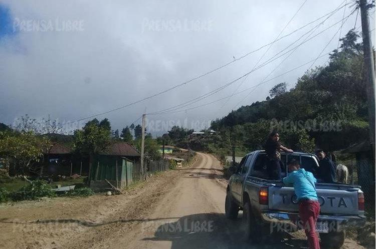 Yalambojoch, Nentón, donde vivía Felipe Gómez Alonzo, es una de las comunidades más lejanas de Huehuetenango. (Foto Prensa Libre: Heidy Samayoa)