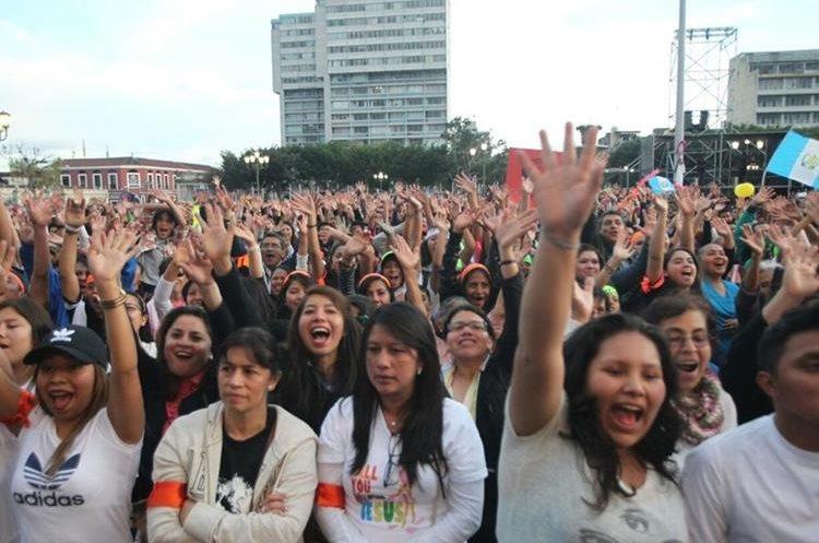Festival de oración Luis Palau es parte de las actividades religiosas que piden paz para Guatemala.