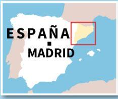 Cataluña busca su independencia de España. (Ilustración: AFP)
