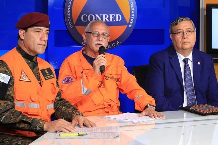 En conferencia de prensa ofrecida el miércoles, el Ejecutivo anunció la derogatoria del decreto 5-2016. (Foto Prensa Libre: Hemeroteca PL)