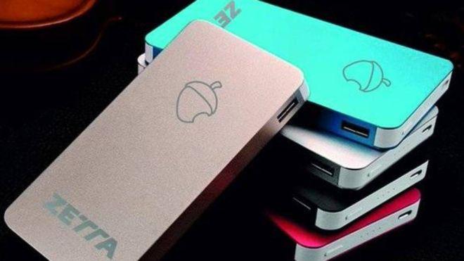 La marca de la bellota quería hacerle la competencia a los iPhone pero se ha visto envuelta en una gran polémica. (ZETTA/TWITTER)