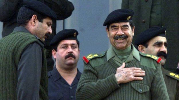 Saddam Hussein estuvo en el poder en Irak entre 1979 y 2003. GETTY IMAGES