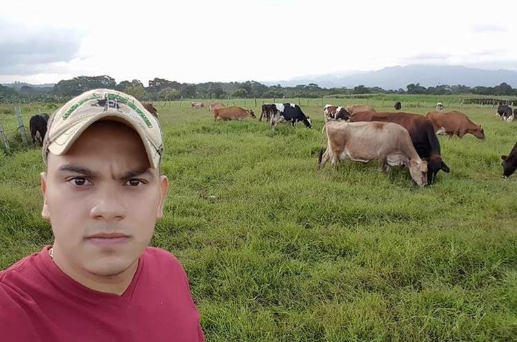 Diego Antonio Umaña García era un joven trabajador. (Foto Prensa Libre: Mario Morales).